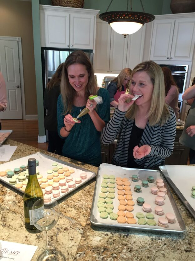 We host baking parties for birthdays and other special occasions